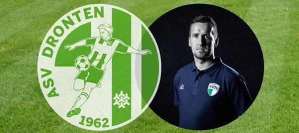 Patrick Posthuma hoofdtrainer asv Dronten 1 seizoen 2020/2021